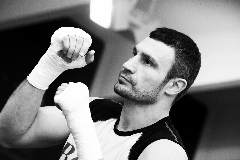 Vitali Klitschko Heavyweight Champion of the World.