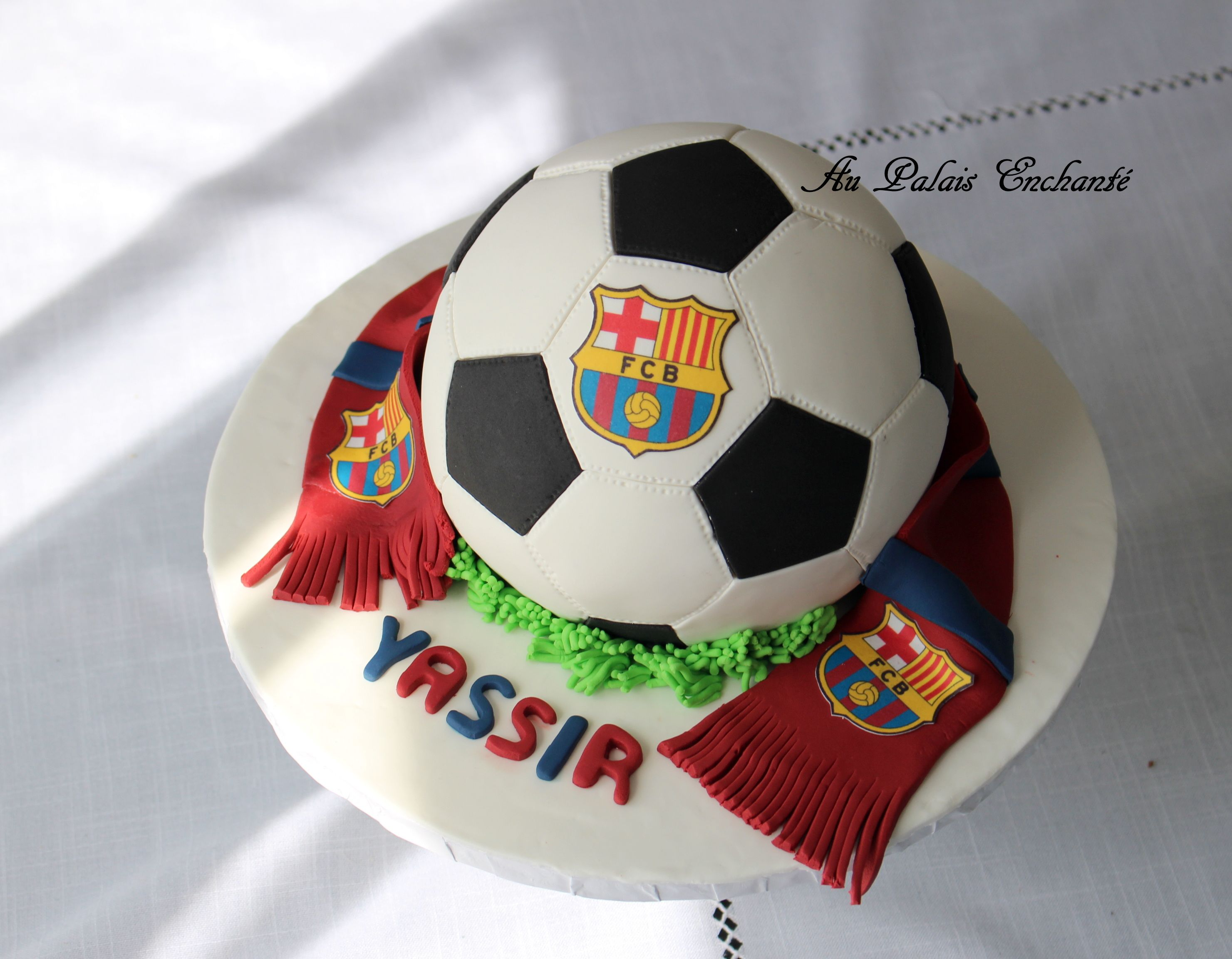 Image gateau ballon foot