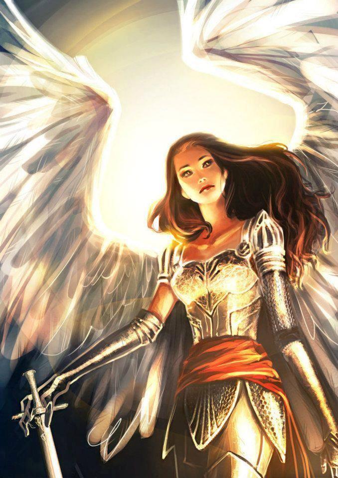 angel in armor fairies