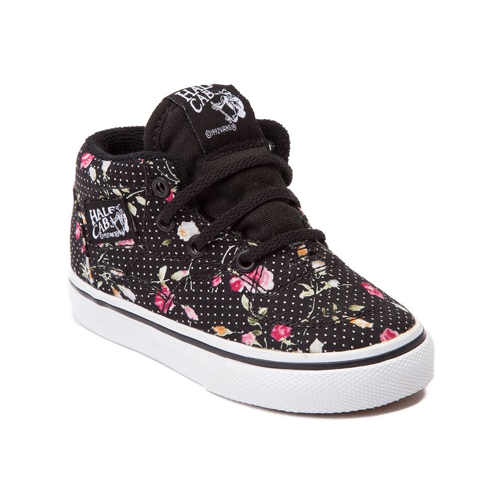 d9e85c86ca Toddler Vans Half Cab Skate Shoe