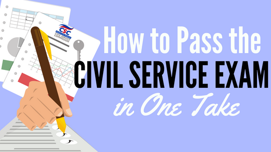How to Pass Civil Service Exam in One Take An Ultimate