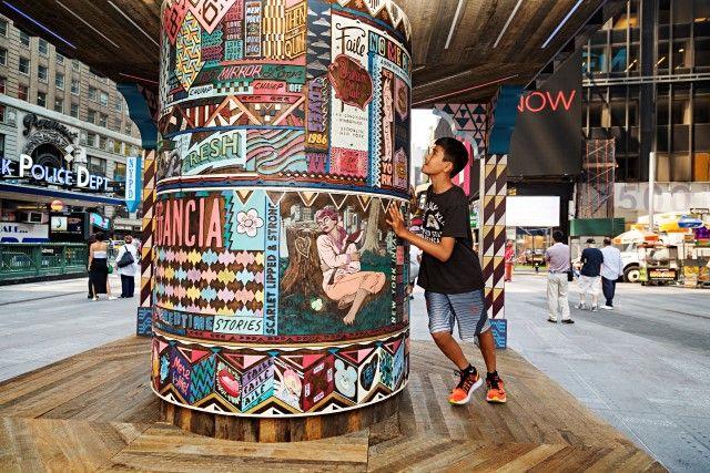 FAILE, artiste exposé au nouveau musée Mima à Bruxelles!