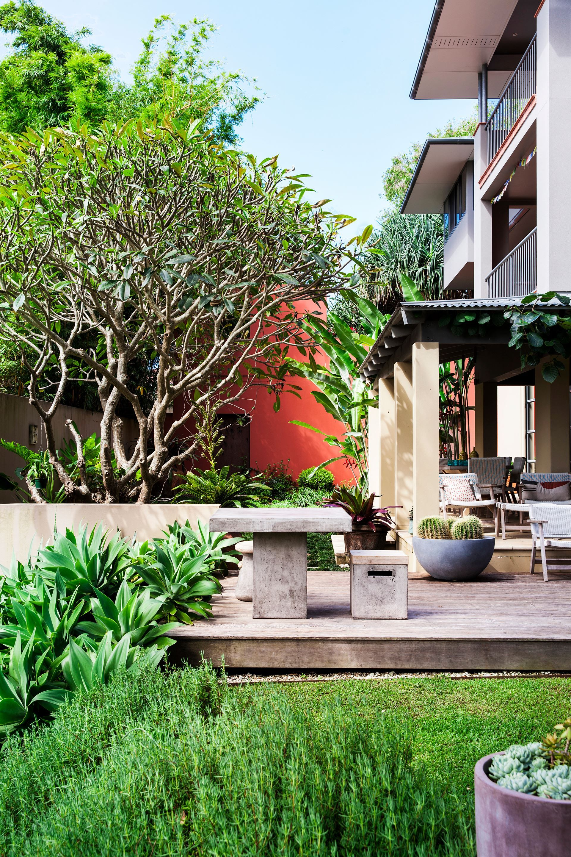 A Tropical Oasis on the NSW North Coast | Sloped garden ...