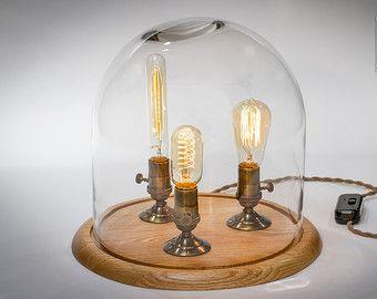 Shadow Box Edison Lamp Table Lamp Desk Lamp von DanCordero