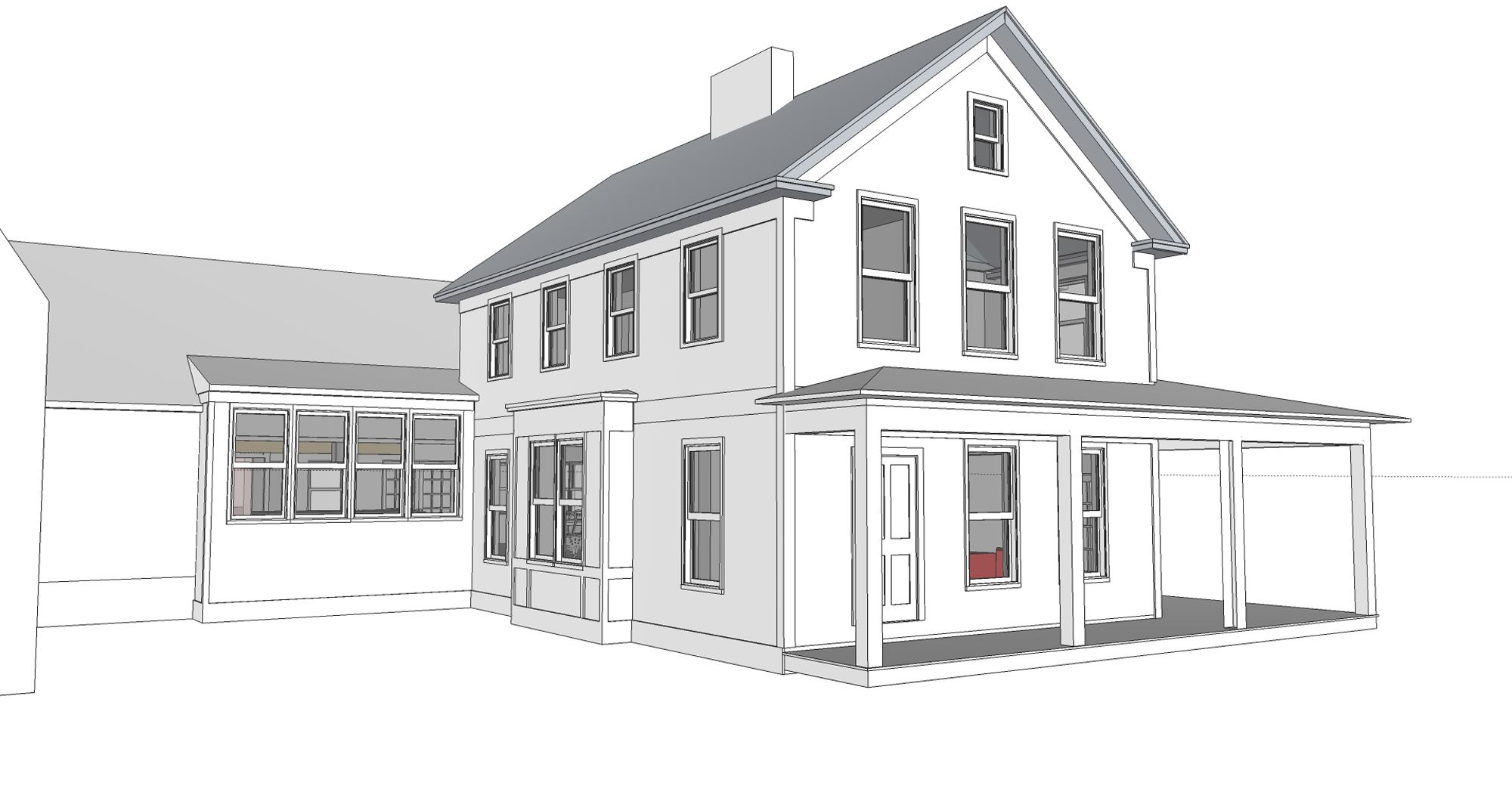 Appealing vermont farmhouse plans gallery plan 3d house for Vermont farmhouse plans