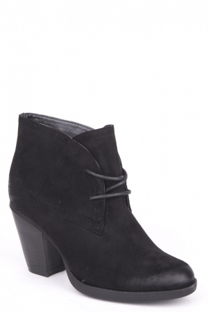 Black Mid Heel Faux Suede Shoes-Black-UK 3 - EU 36. Black Mid Heel Faux Suede Shoes. Get ready for special occasion with this chic mid heel shoes! These shoe are ultra versatile, so they can be easily mix with jeans and knitwear, however they are smart enough to be teamed with bodycon lace dress and metal jewelry for evening outfit! Key features include mid heel and lace up fastening. Material:Faux SuedeHeel Height: 7.5cm