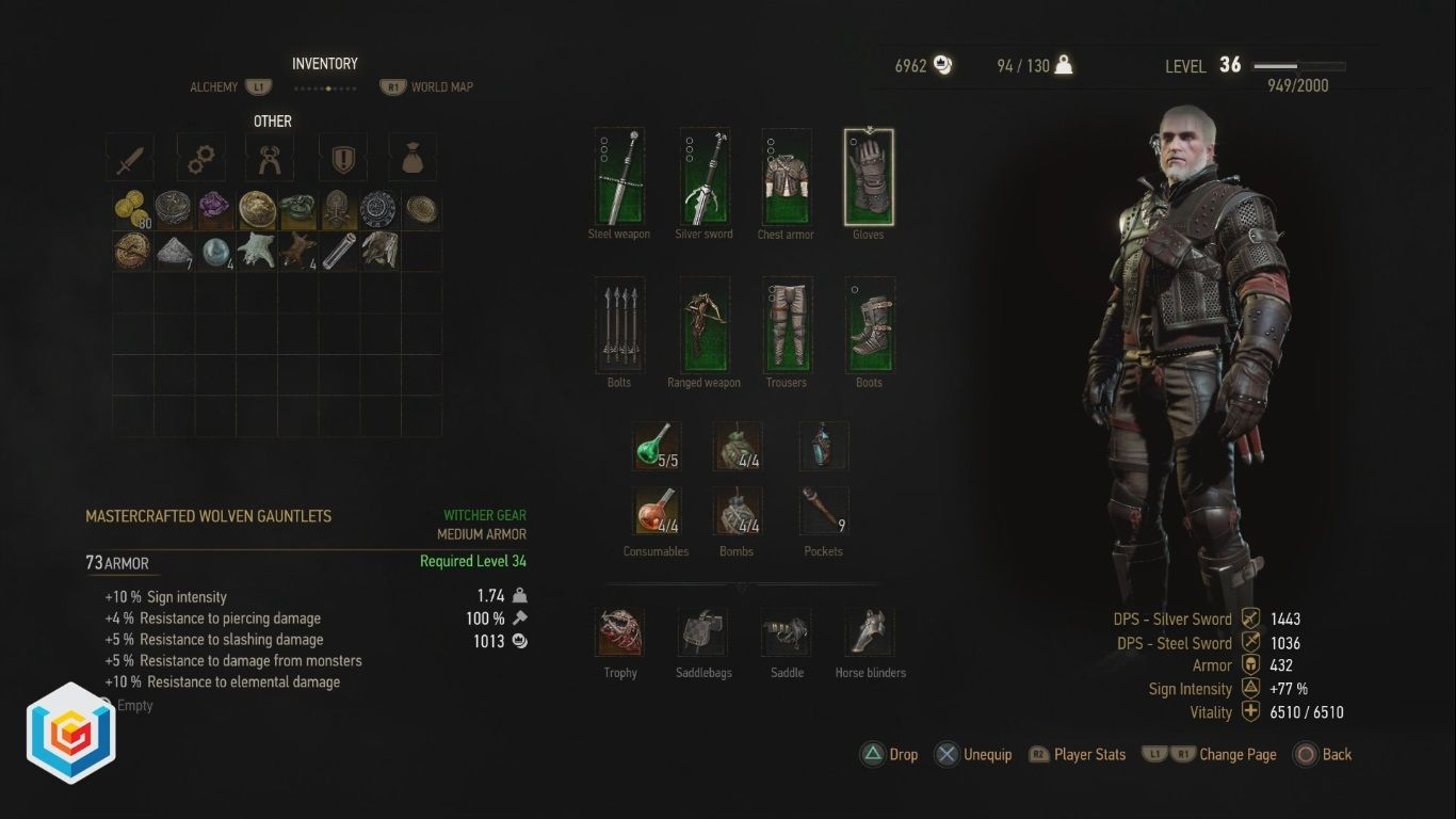 The Witcher 3 Wild Hunt Mastercrafted Wolven Wolf School