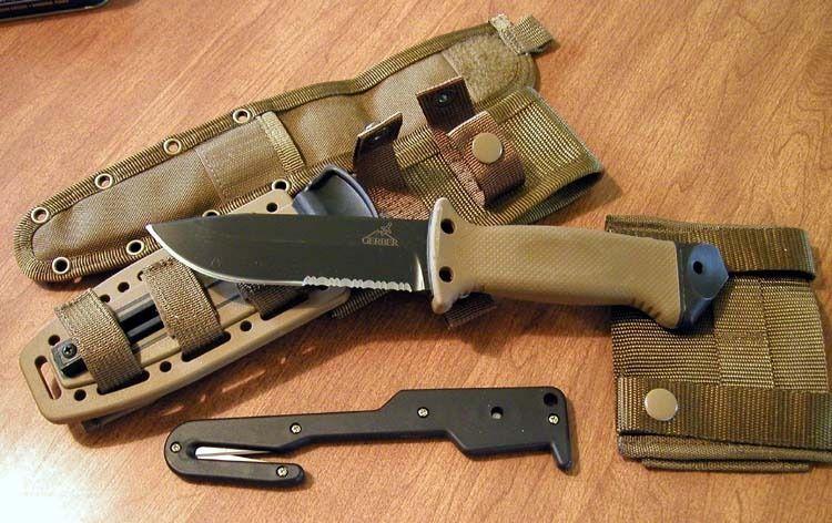 Gerber Lmf Ii A S E K Un Cuchillo Militar Para Pilotos Caídos En Combate Vigilantes De