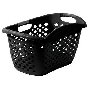 Home Logic 1 8 Bu Hip Hugger Laundry Basket Black Target