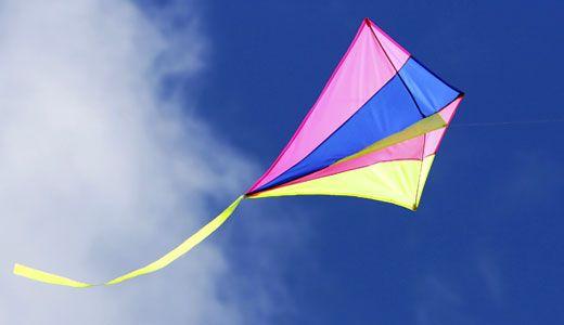 Drachen basteln und fliegen lassen basteln mit kindern for Drachen basteln im kindergarten