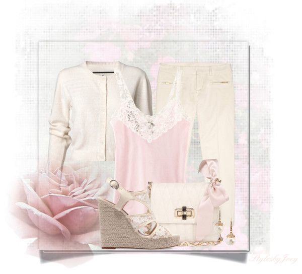 """Soft & Subtle Casual Style"" by stylesbyjoey ❤ liked on Polyvore"