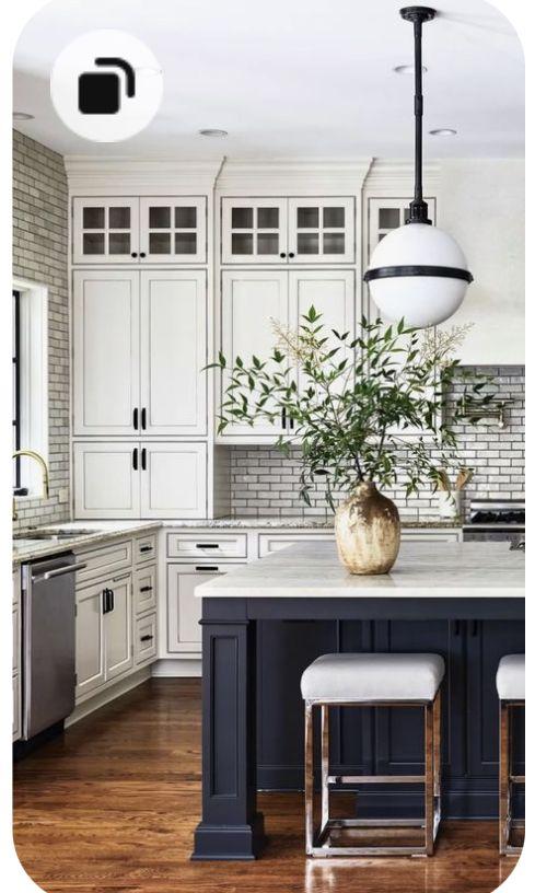 44+ Gray Kitchen Cabinets ( DARK or HEAVY ? ) - Dark, Light & Modern!