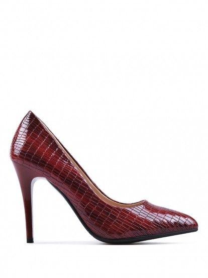 33bbb304a086 Női magas sarkú elegáns cipő TENDENZ - piros | Cipő, szandál ...