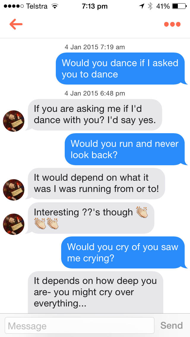This Guys Tinder Trolling Game Is On Point | Enrique
