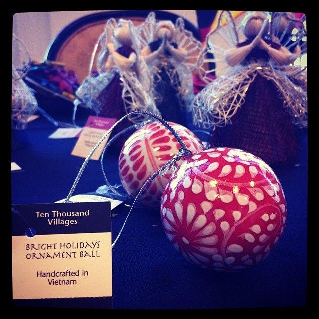 Birght Holidays Ornament Ball - Instagram @julie_uc