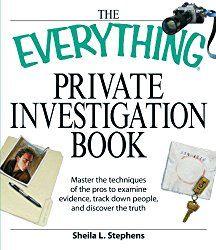 Private investigator cell phone records
