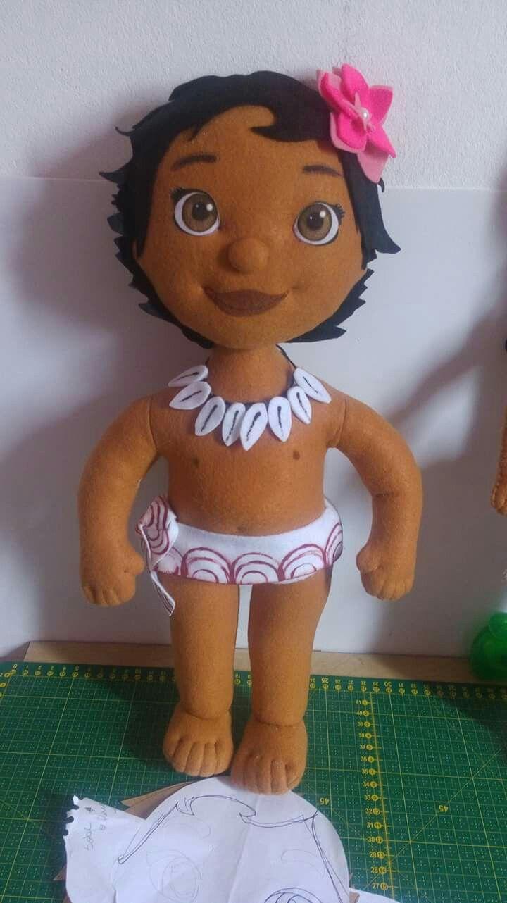 Moana baby by GABY ARTEIRA 1/9 | Varios | Pinterest