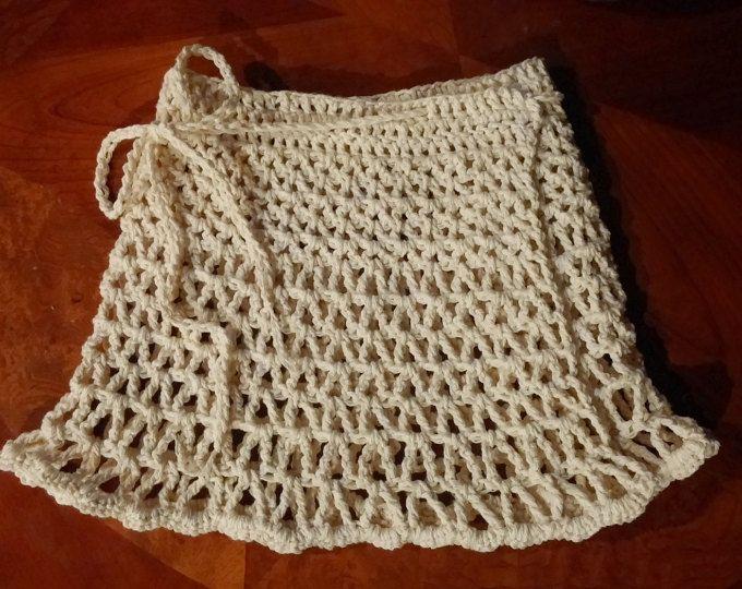 Beach Skirt PATTERN, Crochet Cover up, Crochet Skirt, The Lynette ...