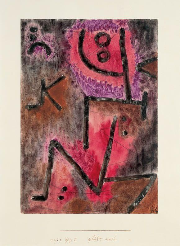 Paul Klee glüht nach, 1939, 925 (YY 5)