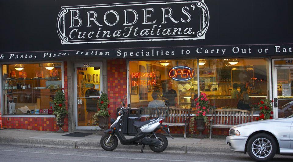 Broders Pasta Bar Cucina Italiana Italian Restaurant Mn