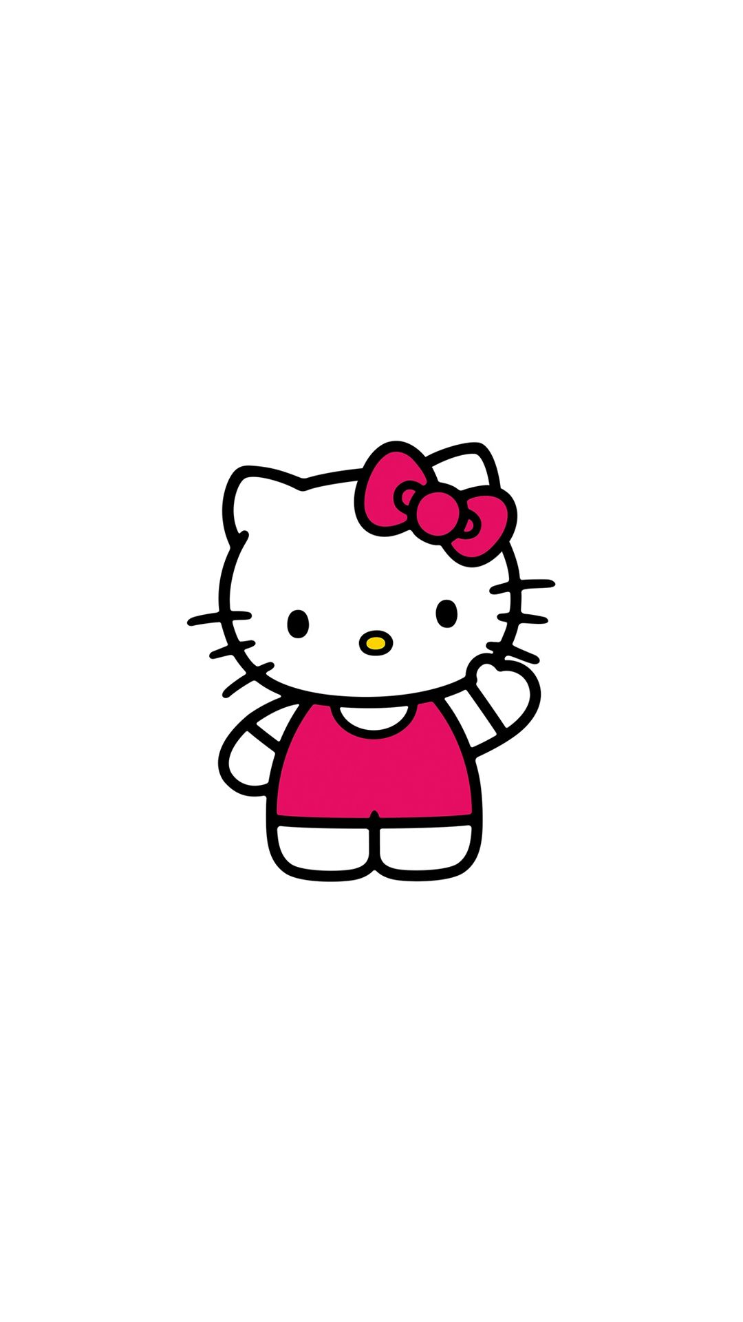 Hello Kitty Art Cute Logo Minimal #iPhone #6 #plus # ...