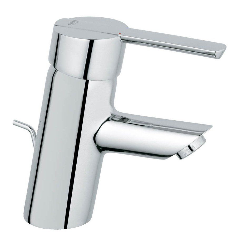 GROHE 23171000 Feel Starlight Chrome 1-Handle Single Hole Bathroom ...