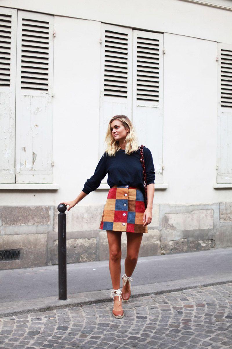 Así llevan las alpargatas las francesitas más cool © Adenorah