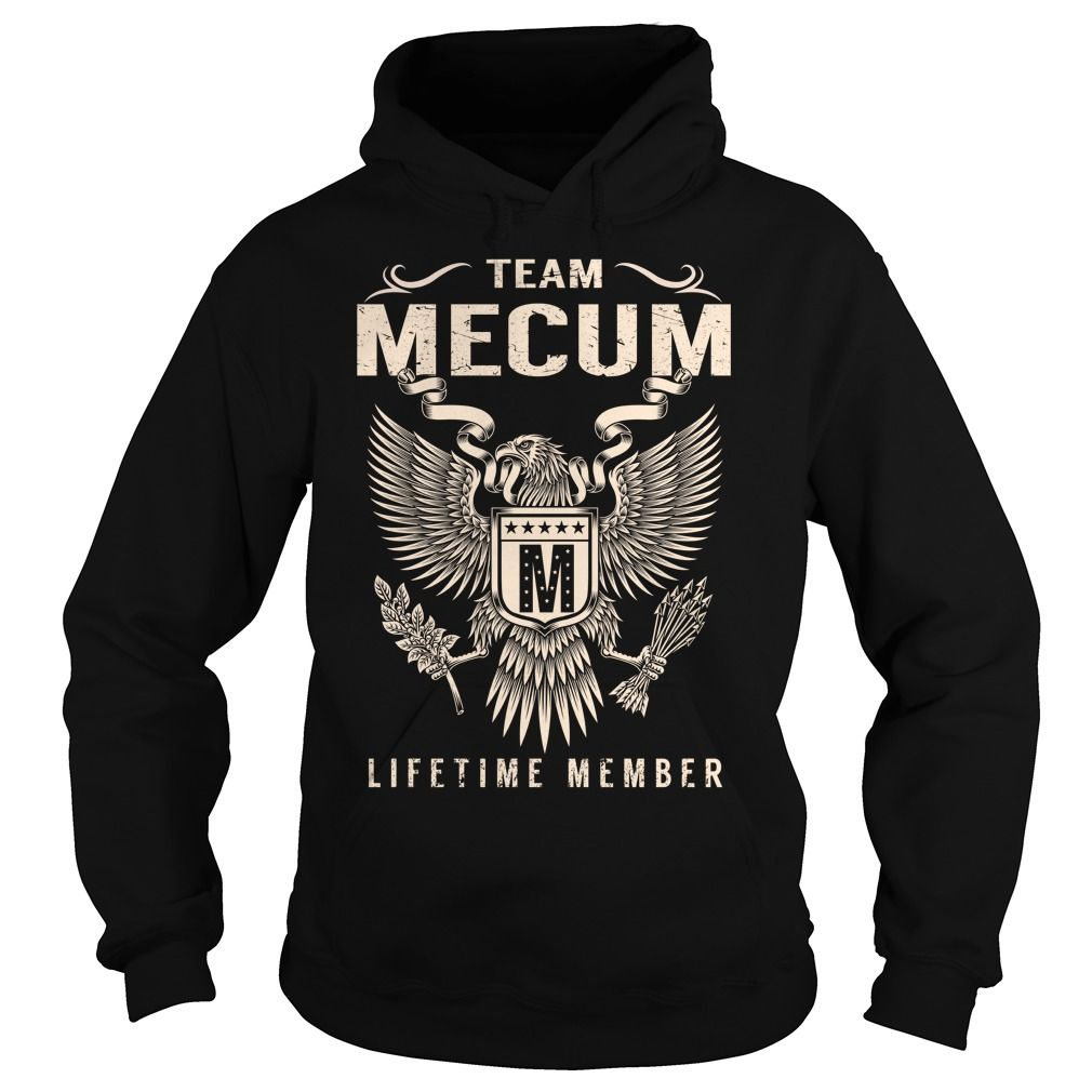 Team MECUM Lifetime Member - Last Name, Surname T-Shirt
