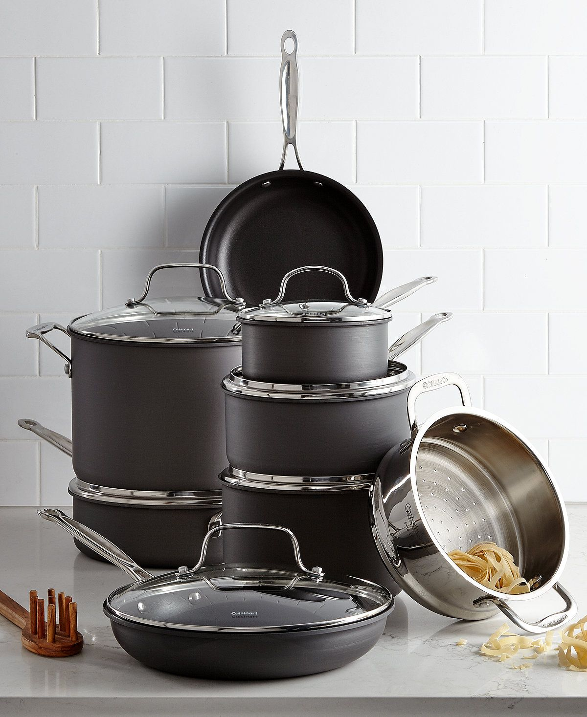 Cuisinart Chef's Classic HardAnodized 14Pc. Cookware Set