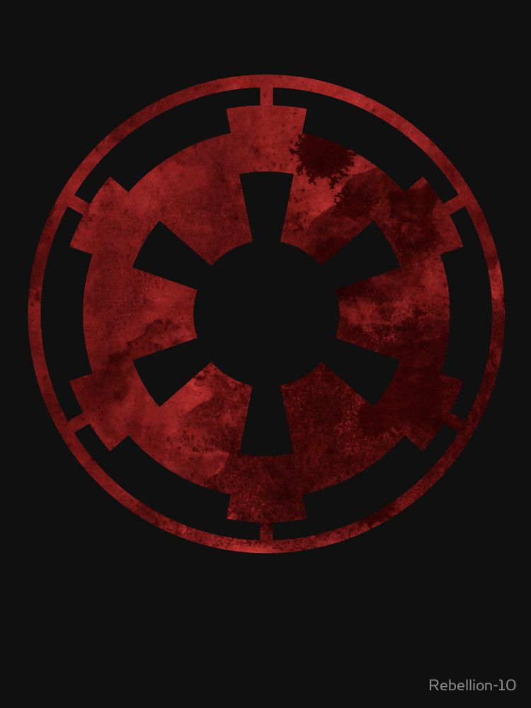 The Symbol Of The Galactic Empire From The Star Wars Universe Show
