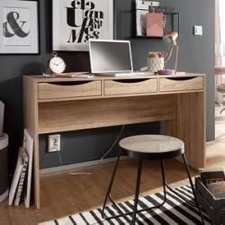 Wohnling Samo Schreibtisch rechteckige Eiche WohnlingWohnling