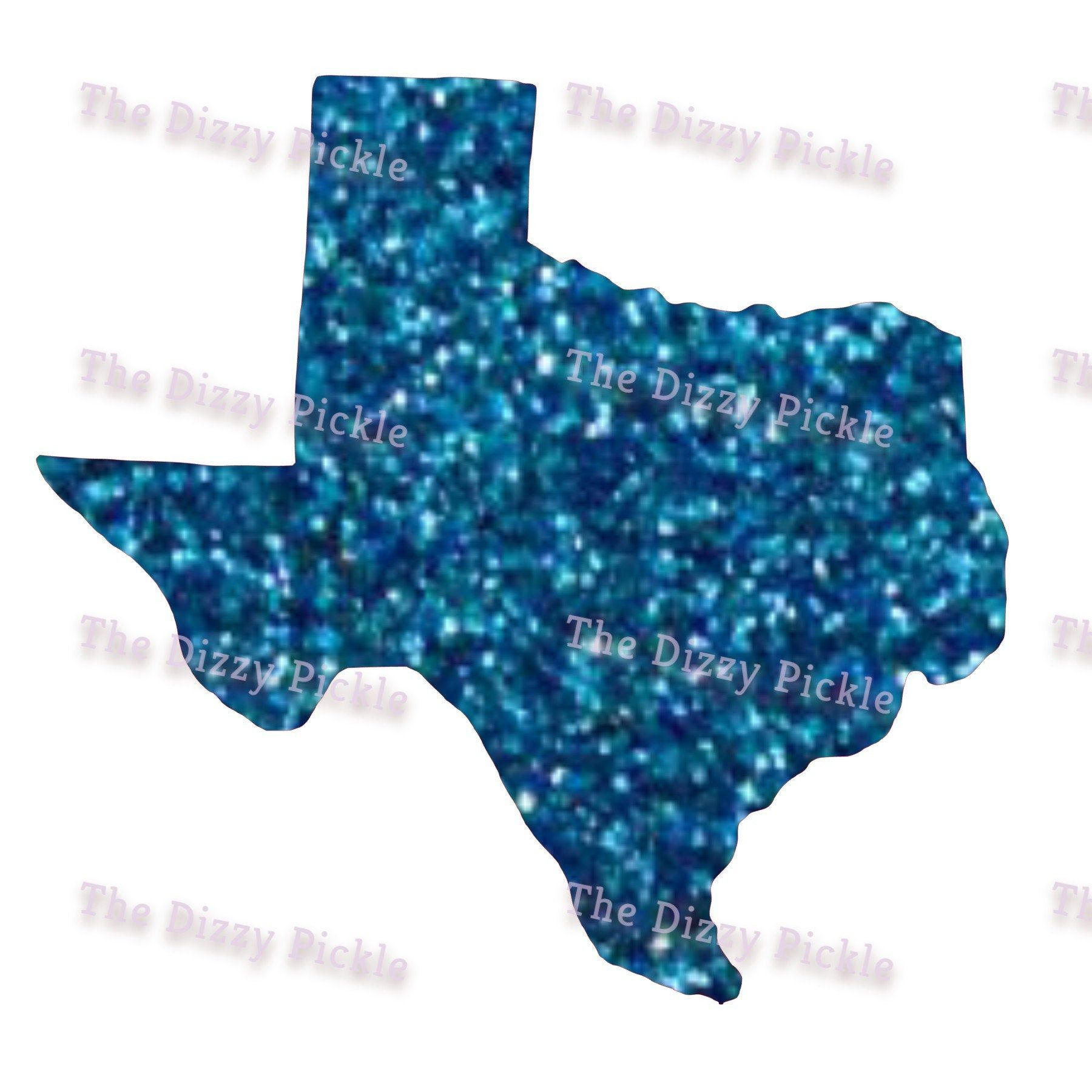 Sublimation Texas State Outline Blue Glitter Design Png Etsy Outline State Outline Sublime