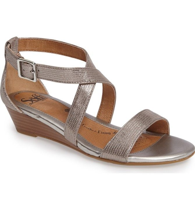 Bridal Shoes At Nordstrom: Söfft 'Innis' Low Wedge Sandal (Women