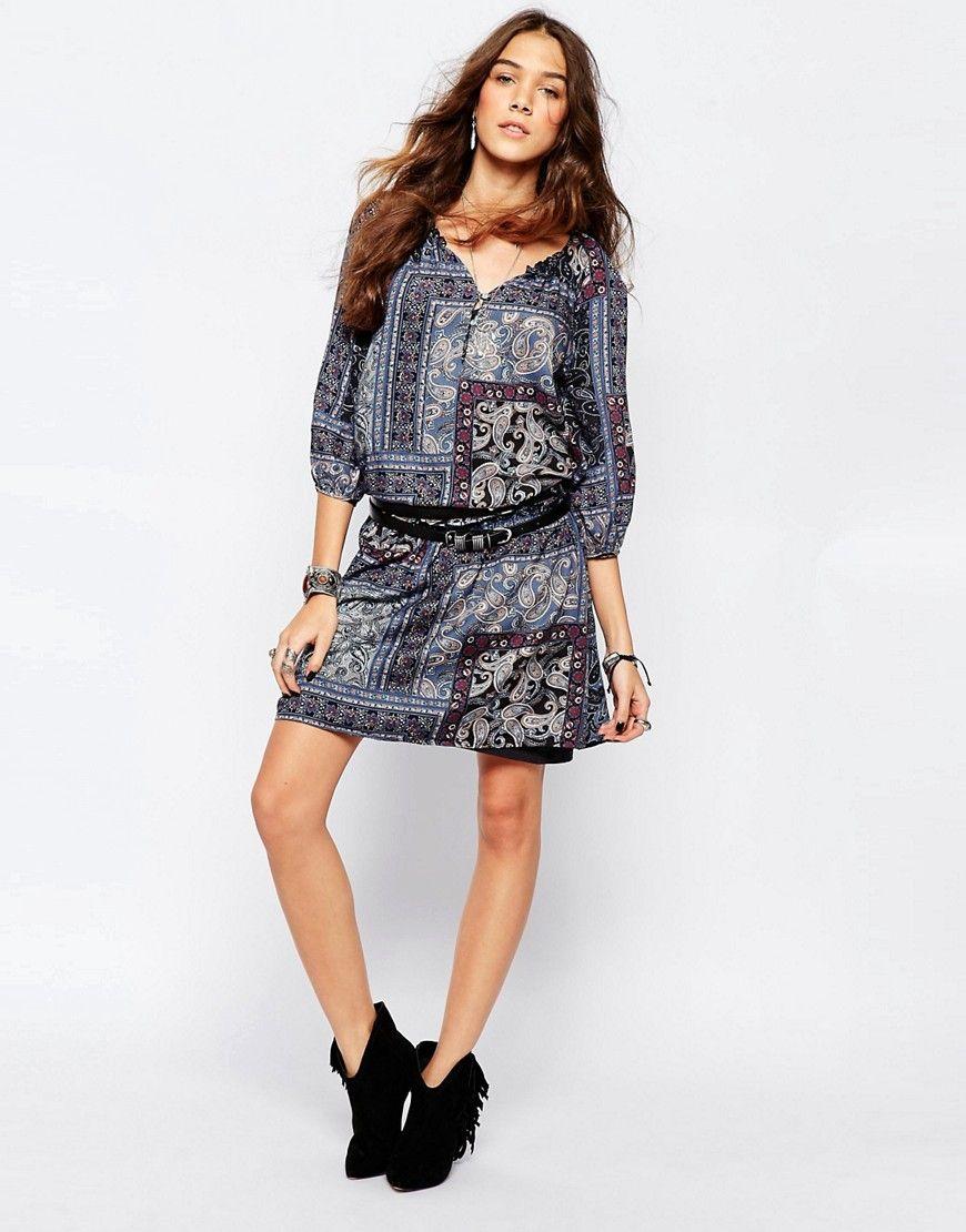 Compra Vestido informal de mujer color azul marino de Esprit al mejor  precio. Compara precios de vestidos de tiendas online como Asos - Wossel  España