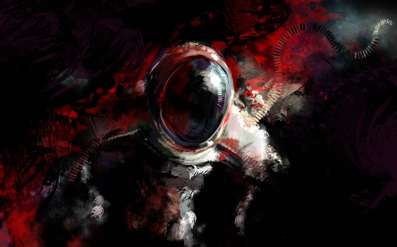 Mysterious Astronaut Fantasy Art Wallpaper Astronaut Wallpaper Abstract Fantasy Art