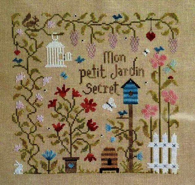 Mon Petit Jardin Secret Cross Stitch Patterns Bird Patterns