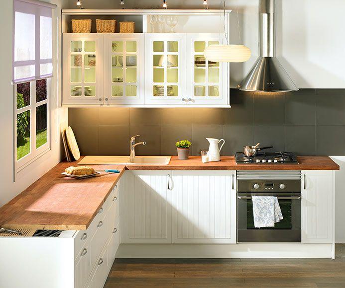 Delinia toscane delinia toscane ref 310805 - Muebles cocina leroy merlin ...