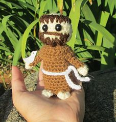 Ravelry: Saint Francis of Assisi Amigurumi pattern by Vivianne Russo - Philae