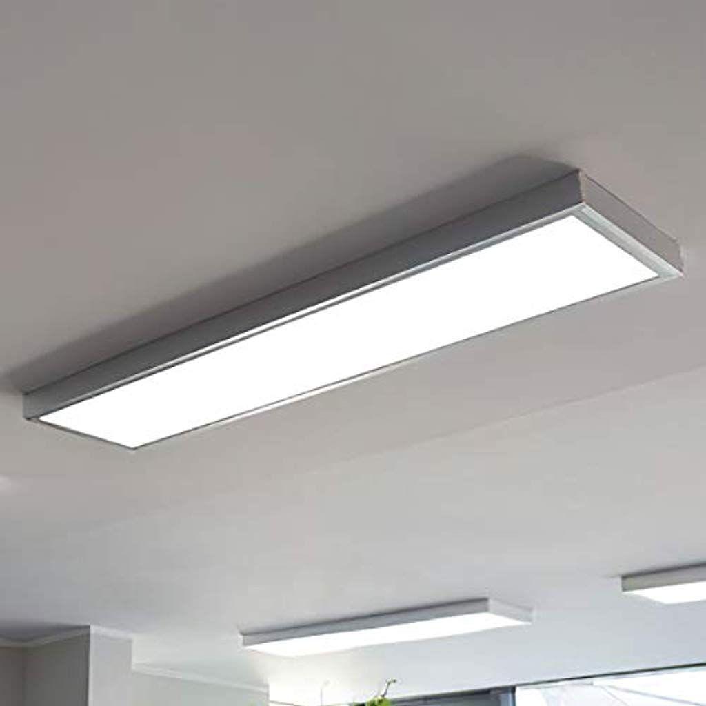 Led Panel Led Deckenlampe Inkl Aufputzrahmen 120cm X 30cm 36w 4000k Neutralweiss Einfache Und Schnelle Installation Beleuchtung Innenbeleuchtung Deckenbeleuc