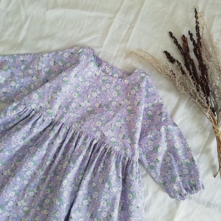 型紙 作り方 シンプルな長袖aラインワンピース ハンドメイド洋裁ブログ yanのてづくり手帖 簡単大人服 子供服 小物の無料型紙と作り方 女の子 ワンピース 女の子のドレス 女の子のドレスの型紙