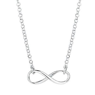 Awesome infinity necklace in sterling silver by michael hill awesome infinity necklace in sterling silver by michael hill mozeypictures Gallery