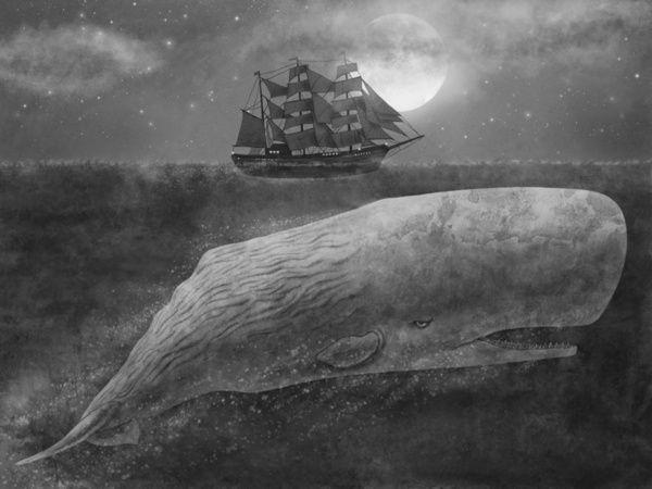 Far From Nantucket  Art Print -- sort of reminiscent of the Blackwood print I love.