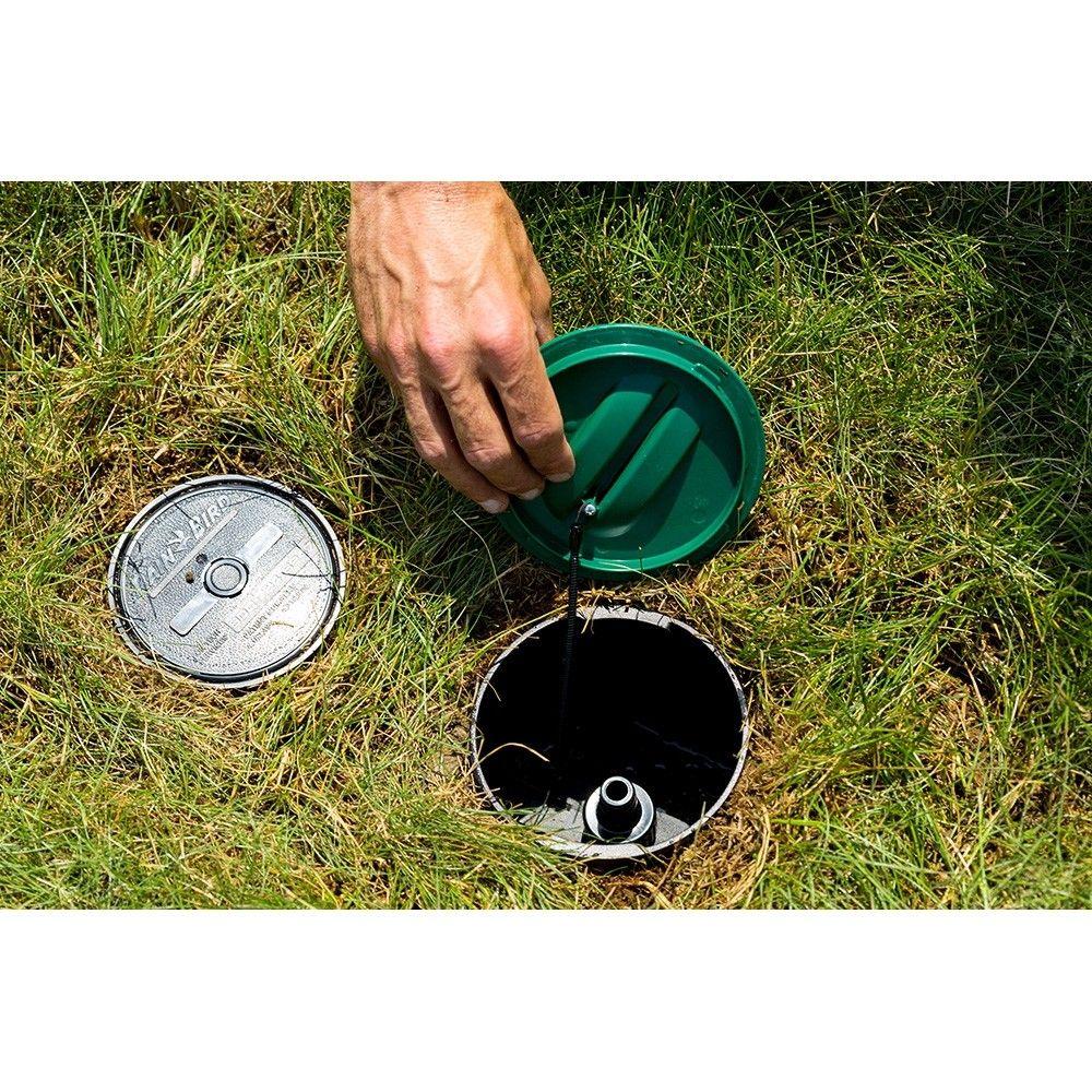 Lg3he In Ground Sprinkler With Click N Go Hose Connect Sprinkler Home Sprinkler System Sprinkler Valve