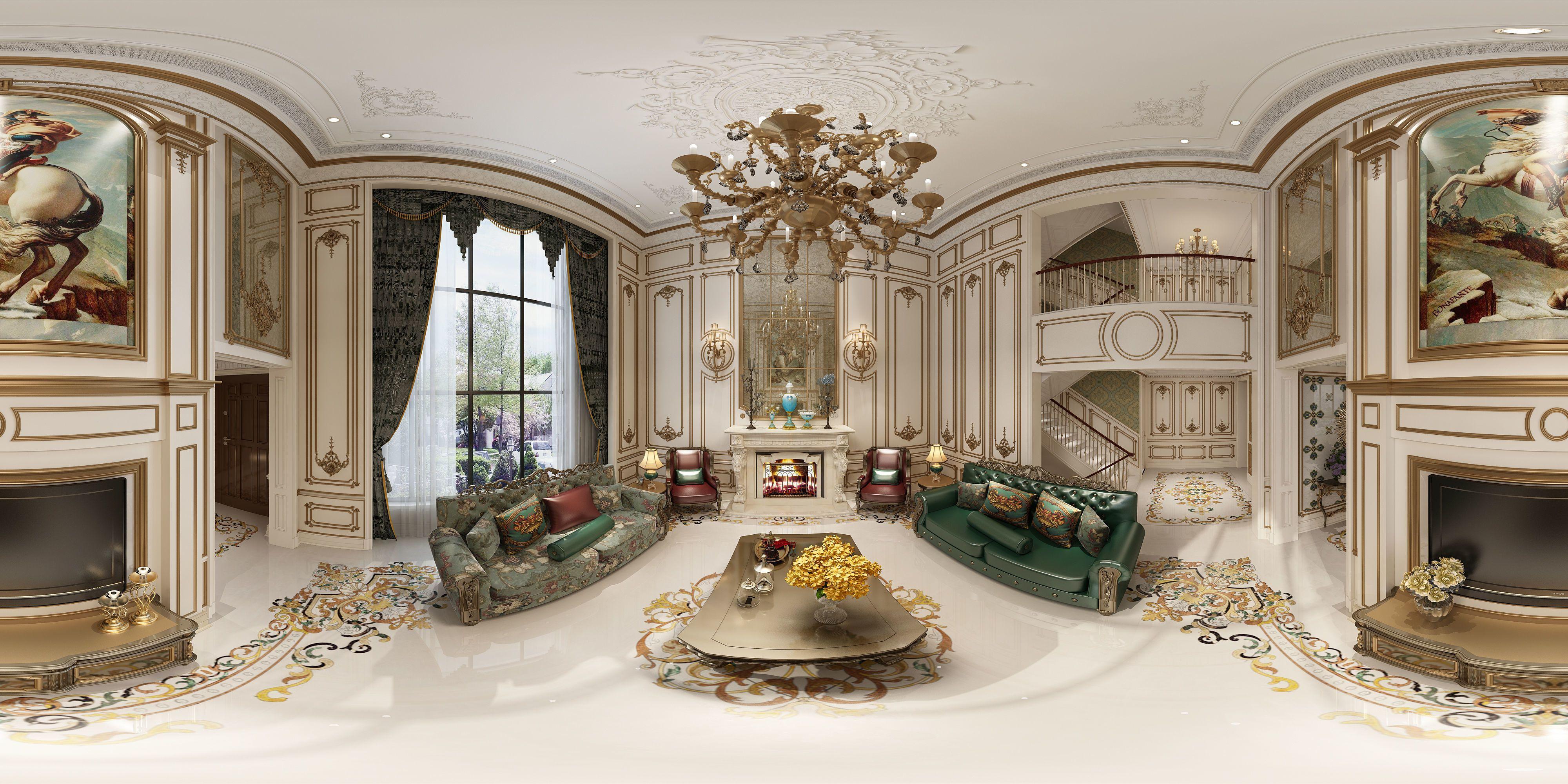 Amazing Antique Style Living Room 3D Model Max 1 Interior Scenes Download Free Architecture Designs Grimeyleaguecom