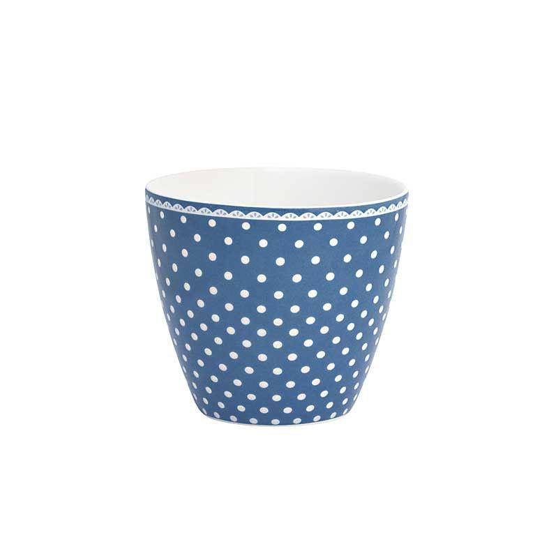Geengate tazza da latte Spot Indigo EURO 14,00 WORLDWIDE SHIPPING SHOP NOW http://shop.fillyourhomewithlove.com/tavola-e-cucina/geengate-tazza-da-latte-spot-indigo.html