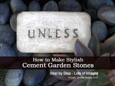 How to Make Stylish Cement Garden Stones Inspired By The Lorax Movie