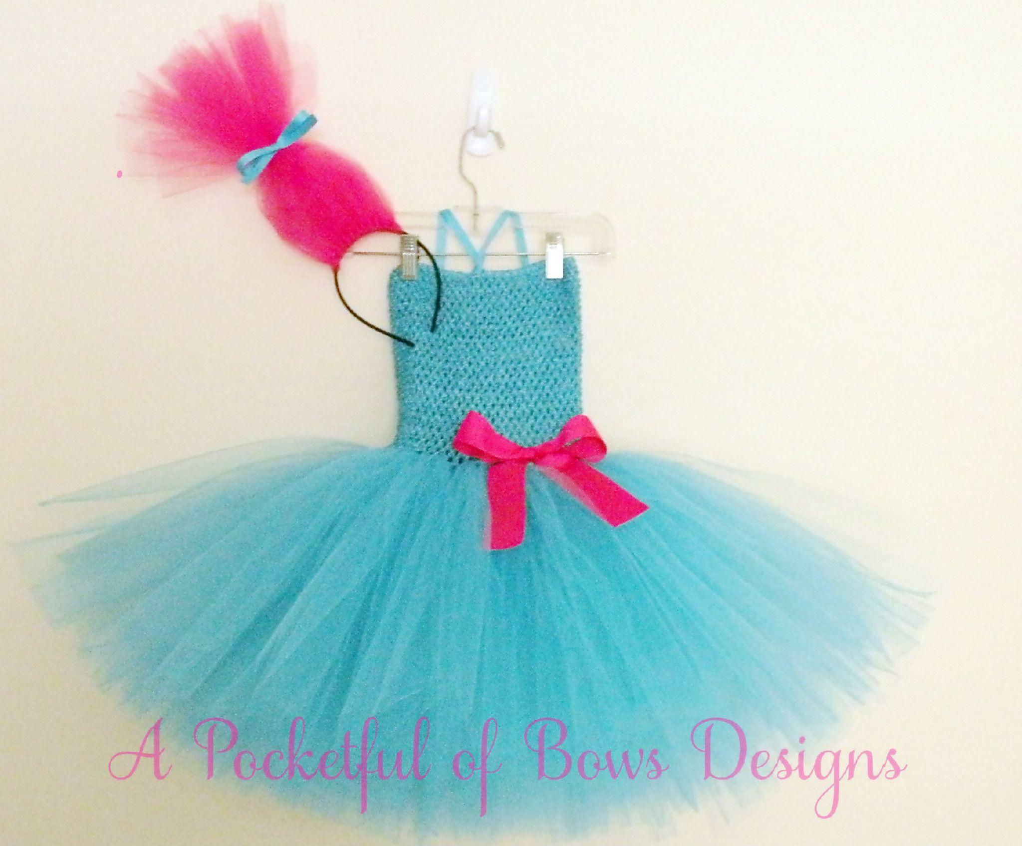 Troll Birthday Tutu Dress Costume | BIRTHDAY PARTY TUTU DRESSES and ...