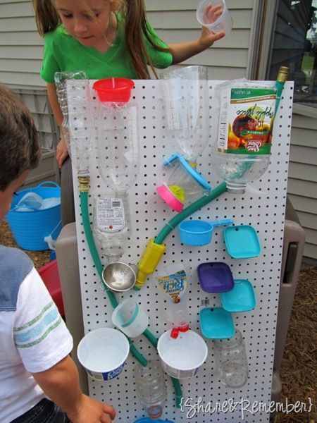 DIY Kids' Water Wall by shareandremember #Kids #Water_Wall #shareandremember