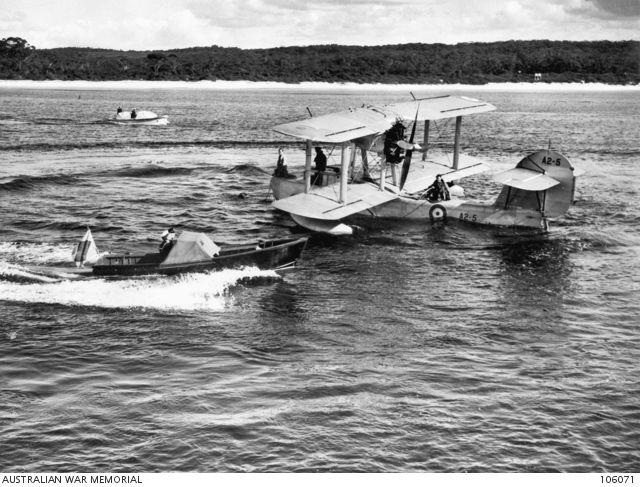 RAAF Supermarine Seagull V A2-5 (Photo Source: Australian War Memorial)