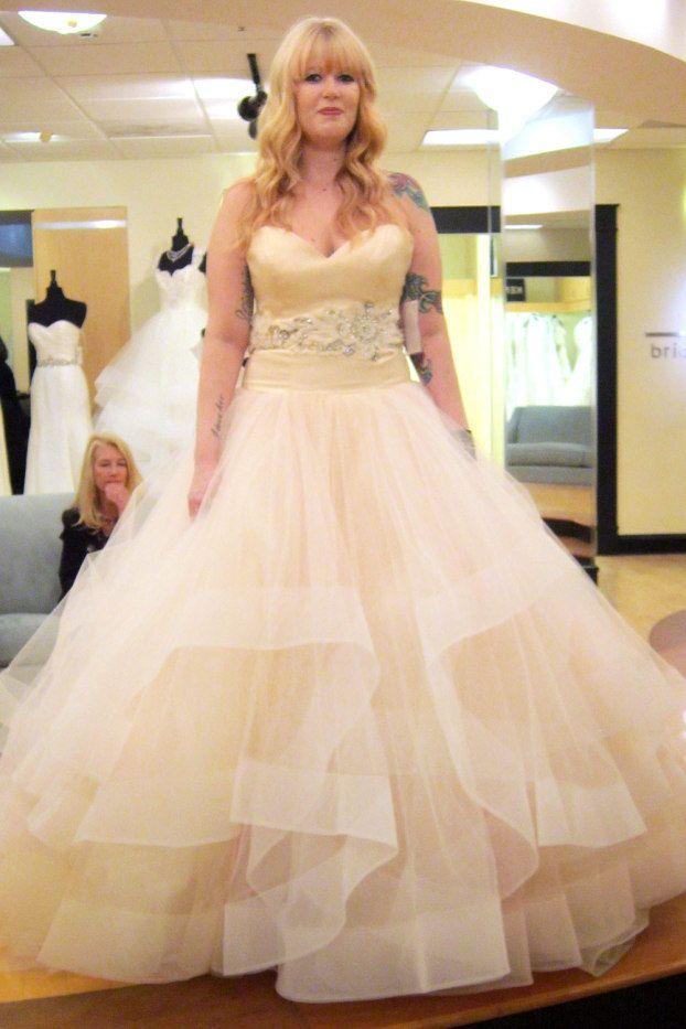 Season 7 Featurd Dresses, Part 5. Melody. Dress info: Lazaro ...